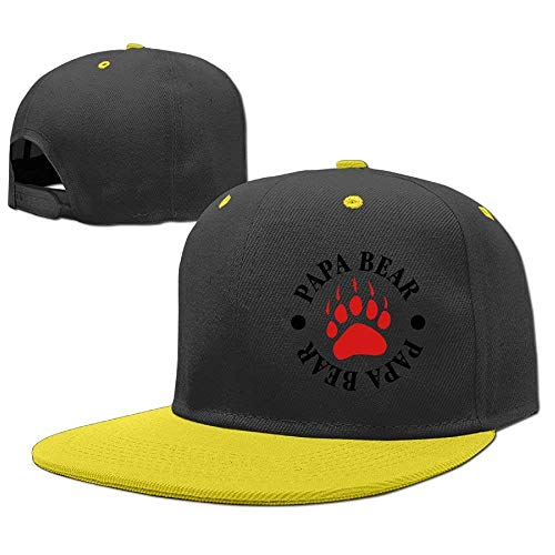 RGFJJE 3 Caps Hats Hop Hip béisbol Baseball Gorras Papa Girls Boy Bear rzwqxH1gr