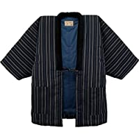 Hanten (Cotton Jacket Made in Japan Kimono-style)importjapanese Clothes Size Mens