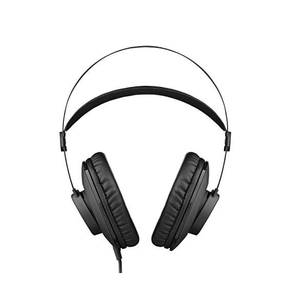 AKG K72 Close-Back Studio Headphones (Black)