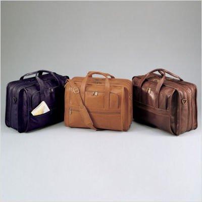 (Winn International Cowhide Leather Briefcase )