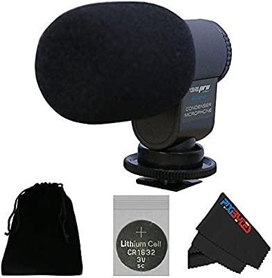 i3epro bp-cmic1 X-Series Mini escopeta micrófono de condensador ...