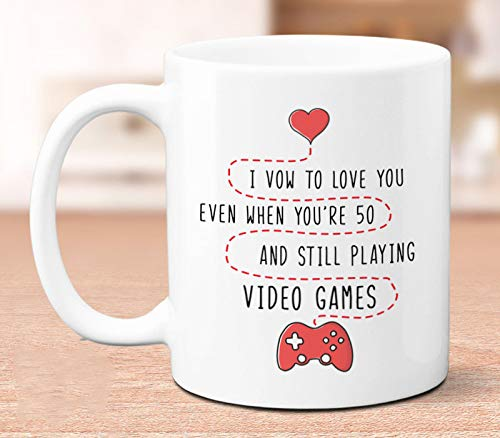 Amazon com: I Vow to Love You, funny saying gift for