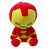 Longpro Air Purifier Cleaner Bamboo Charcoal Bag Doll Marvel Legends Themed 3D Portable for Car Pendant Room Party Decor Bedding Collection Birthday Toy (Iron Man)