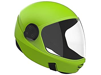 Cookie G3 paracaidismo casco (verde lima, pequeño)