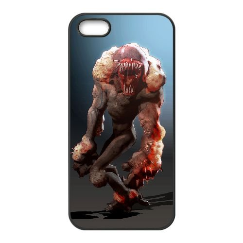 Sunset Overdrive 14 coque iPhone 5 5s cellulaire cas coque de téléphone cas téléphone cellulaire noir couvercle EEECBCAAN05792