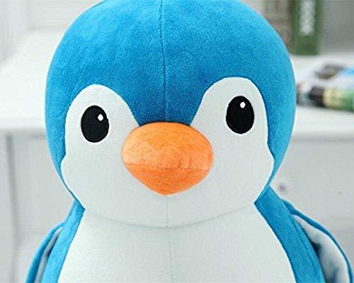 Babique Penguin Teddy Bear Plush Soft Toy Cute Kids Birthday Animal Baby Boys/Girls (28 cm, Blue) 5