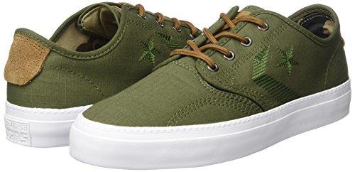 Converse Cons Zakim Ox Sneaker - Zapatillas Unisex adulto Oliva