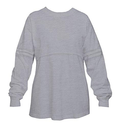 Cotton Oxford Pullover - Pom Pom Pullover Jersey Shirt, Womens Sizes (Medium, Oxford Gray)