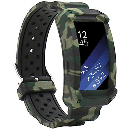 Malla para Reloj Samsung Gear Fit 2 Sm-r360 Green Camo