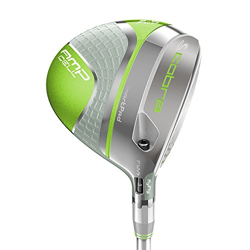 Cobra Golf Clubs Women s AMP Cell Green Fairway Wood 7w-9w 22*-25* – NEW