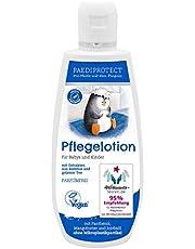 PAEDIPROTECT Verzorgingslotion voor baby's en kinderen (1 x 250 ml), zonder microplasticdeeltjes, zonder parfum, veganistisch