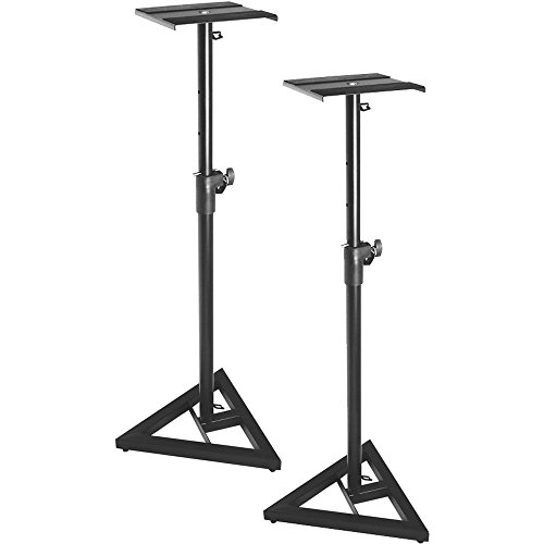 On-Stage SMS6000 Adjustable Studio Monitor Stand, Pair