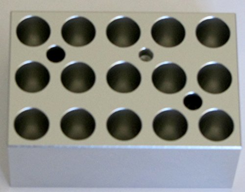 Heating Block for Minit-100 Dry Bath, Lab Heat Block for 2.0 Ml Tubes by Chang Bioscience (Image #1)