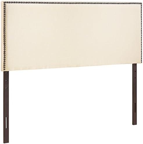 Modway Region Linen Fabric Upholstered King Headboard