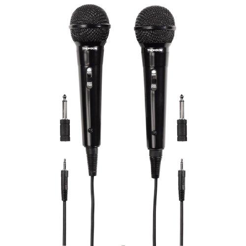 Thomson M135D Dynamisches Mikrofon, 2er Pack