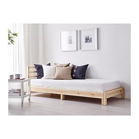 Amazon.com: IKEA sofá cama con 2 colchones, pino, minnesund ...