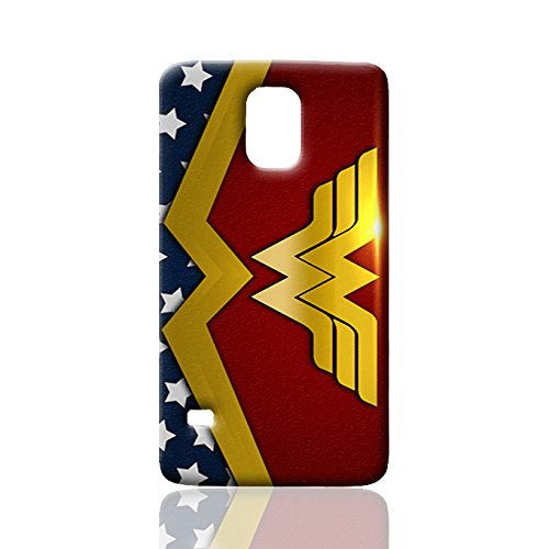 Wonder Woman Durable New Style ROUGH Skin 3D Case Cover for Samsung Galaxy S5 I9600 Regular