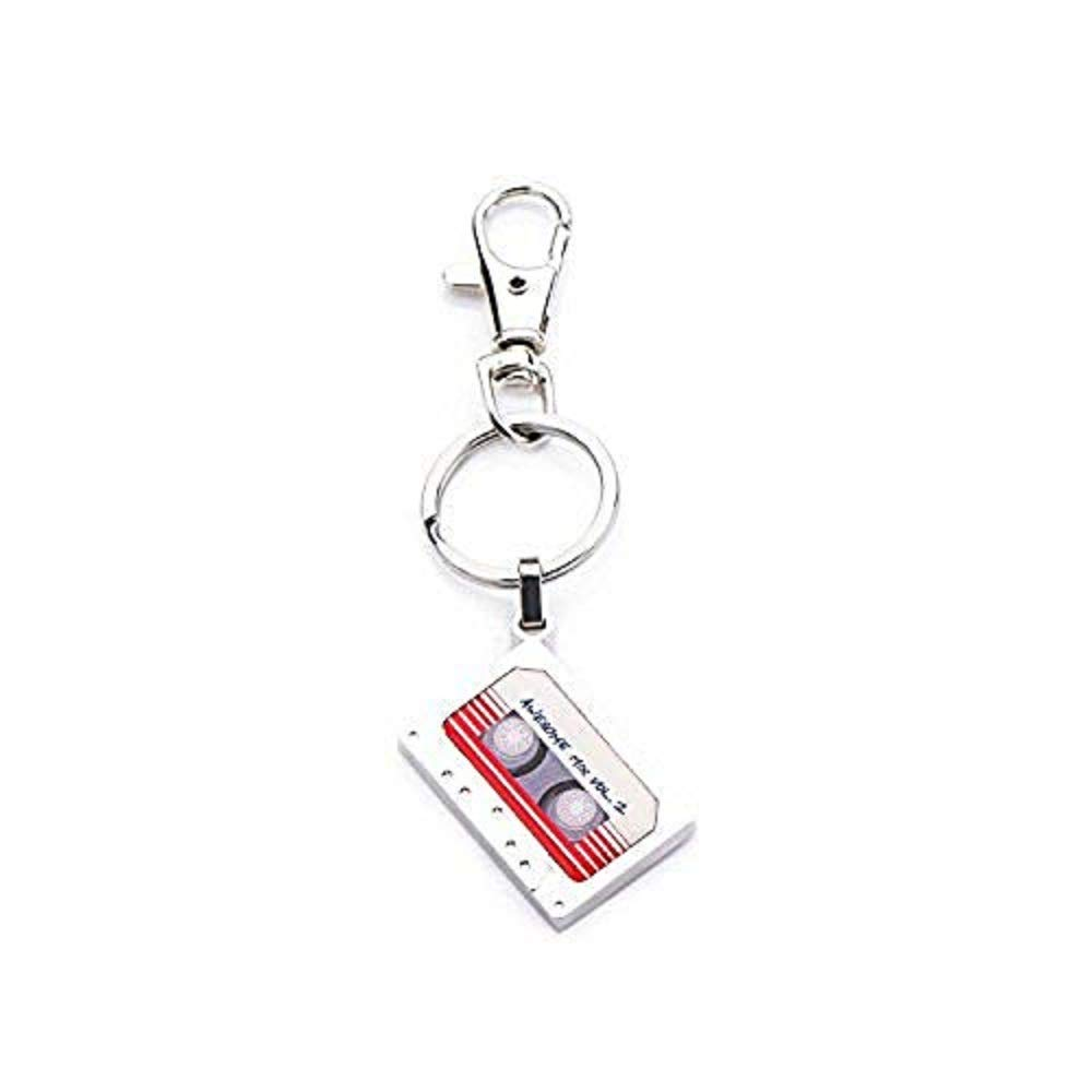 Marvel Base Metal Guardians of the Galaxy Mix Vol 2 with Stainless Steel Key Chain