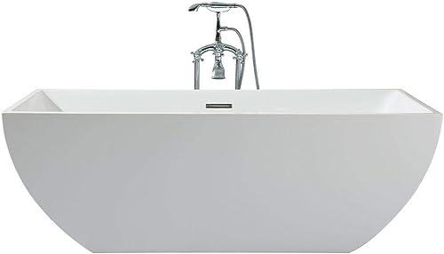 DKB Aquarius UB111-6730 Freestanding Acrylic Bathtub 67 x 30 Inches