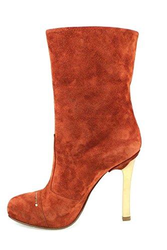 FABI 40 Stiefel Damen Orange / Rost Wildleder AM39 -40