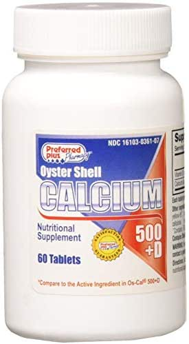 Oscal Calcium 500 Mg Tablets with Vitamin D for Optimal Bone Health - 60 Tablets