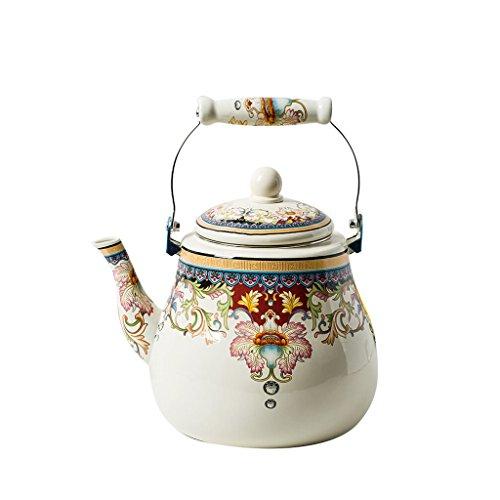 YONGJUN 4L Enamel Teapot - Kettle, Teapot, Cold Kettle, Indu