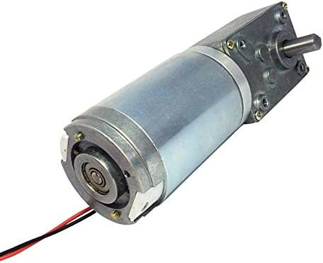 12 Volt Motor >> Bemonoc Small Electric 12 Volt Motor 80 Rpm Dc Worm Geared Motor