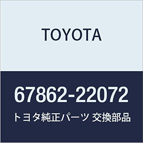 TOYOTA Genuine 67862-22072 Door Weatherstrip