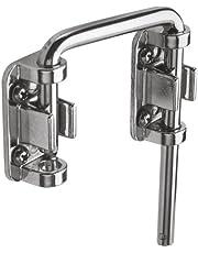 Prime-Line Products U 9847 2-1/8-Inch Sliding Door Loop Lock, Nickel Plated