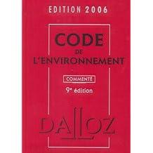 CODE ENVIRONNEM. 06 COMMENTE