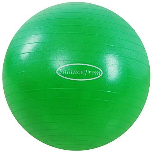 BalanceFrom Anti-Burst and Slip Resistant Exercise Ball Yoga Ball Fitness