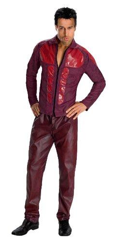 Derek Zoolander Costume, Burgundy, Standard