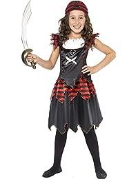 Pirate Skull and Crossbones Girl Costume