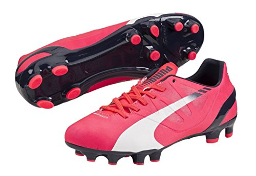Bright homme peacoat Fg white Puma de Red 4 Plasma football 2 Chaussures Evospeed 6w6SxZqg