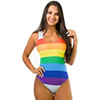 Body Kaisan Sublimado Cavado nas Costas Rainbow Strips