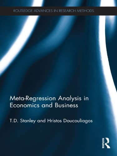 Meta-Regression Analysis in Economics and Business (Routledge Advances in Research Methods Book 5) por T.D. Stanley,Hristos Doucouliagos