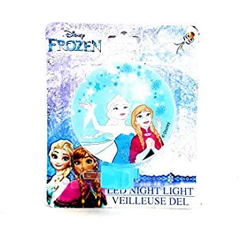 Projectables Frozen LED Night Light, Plug-in, Dusk-to-Dawn ...