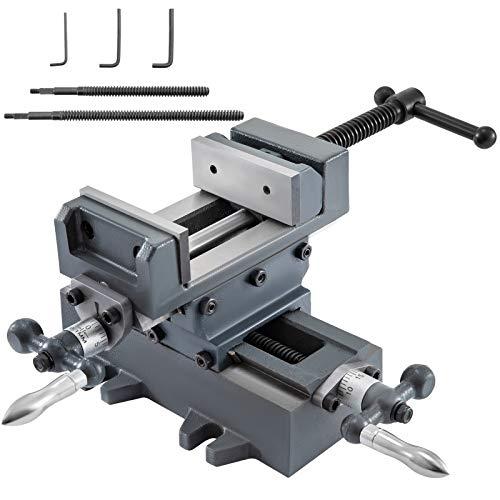 [해외]Mophorn 3 inch X-Y Compound Cross Slide Vise Drill Press Metal Milling With Free Double Screw Rods / Mophorn 3 inch X-Y Compound Cross Slide Vise Drill Press Metal Milling With Free Double Screw Rods