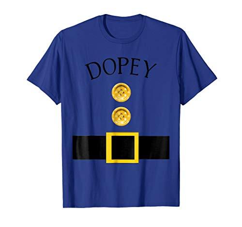 Mens Cute Dopey Halloween Group Costume T Shirt