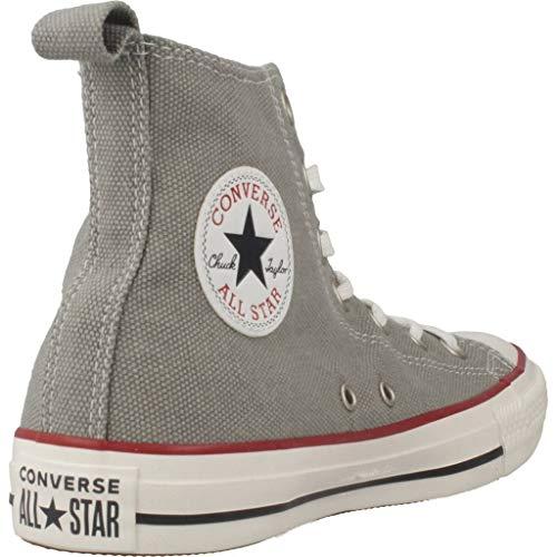 All Converse Marque Couleur Star Chuck Hi Basket Gris Modã¨le Gris Taylor Basket wBqZ6w8