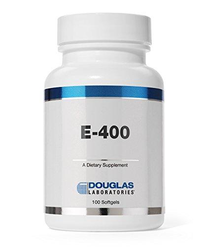 - Douglas Laboratories® - E-400 - Vitamin E for Antioxidant Protection and Cardiovascular Support* - 100 Capsules