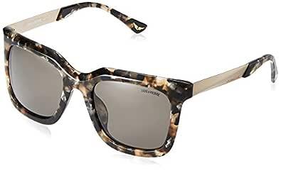 Zadig & Voltaire Women's SZV070G Cateye Sunglasses Multi 55 mm