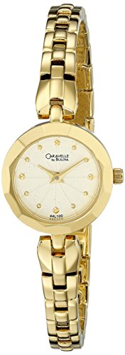 Caravelle by Bulova Women's 44L100 Bracelet Gold-Tone Watch