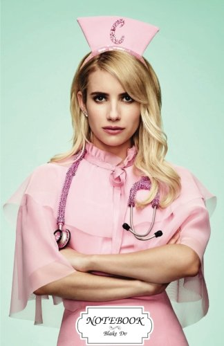 """Download Notebook : Emma Roberts as chanel oberlin scream queens: Journal Dot-Grid,Graph,Lined,Blank No Lined, Small Pocket Notebook Journal Diary, 120 pages, 5.5"""" x 8.5"""" (Blank Notebook Journal) pdf"""