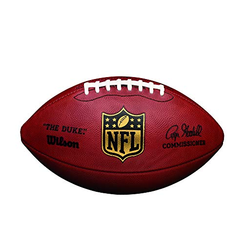 "Wilson ""The Duke"" Official NFL Game Football from Wilson"