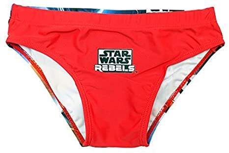 Boys Star Wars Rebels Ezra Swimming Brief Style Swim Trunks Sizes from 4 to 10 Years