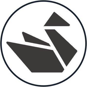 Origami Crane Symbol - 6