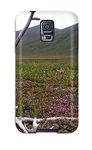 New Premium Flip Case Cover Antler Skin Case For Galaxy S5