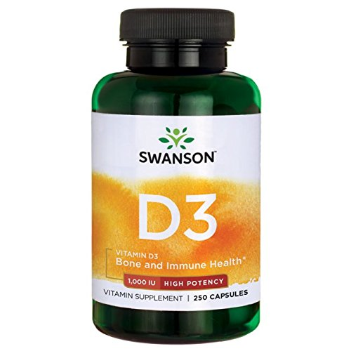 High Potency Dry Vitamin D-3 1,000 Iu 250 Caps