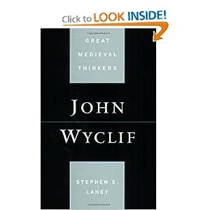John Wyclif Stephen Edmund Lahey
